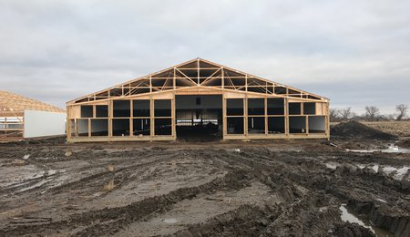 Orsten lay farm progress exterior 2018