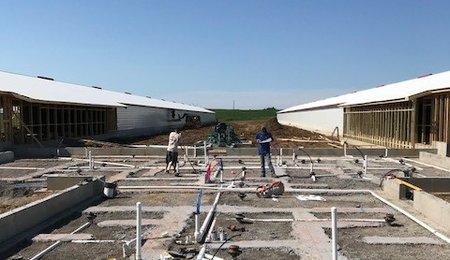 Dry shower construction NE