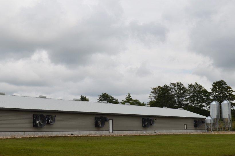 exterior turkey farm