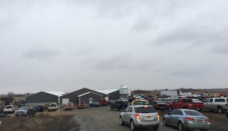 Parking NE farm open house